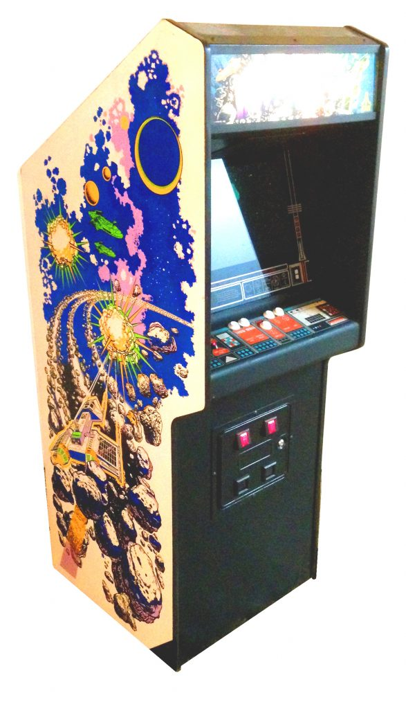 Asteroids Deluxe Video Arcade Game For Sale Arcade