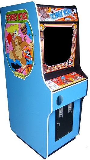 Vintage Arcade Games >> Donkey Kong Video Arcade Game for Sale | Arcade Specialties Game Rentals
