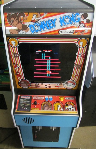 Donkey Kong Video Arcade Game For Sale Arcade