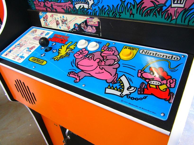 Donkey.Kong.Junior.Arcade.Control.Panel-www.arcadespecialties.com