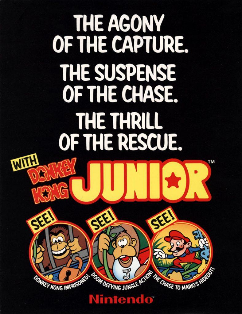 Donkey.Kong.Junior.Arcade.Flyer-www.arcadespecialties.com