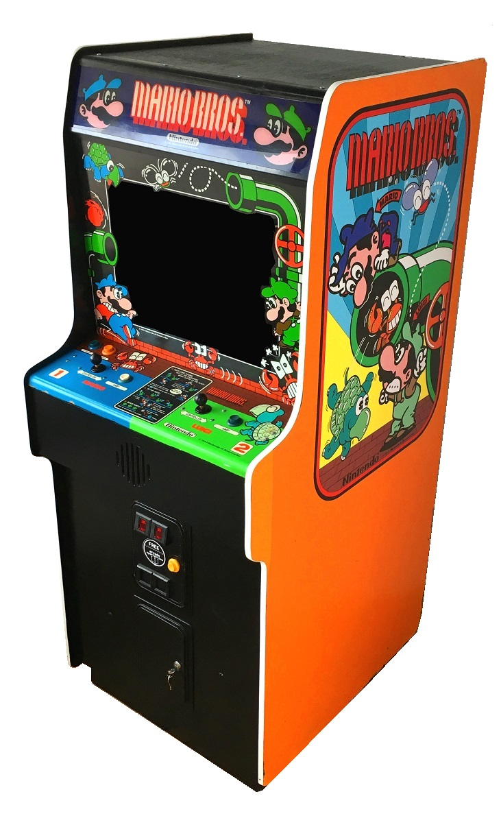 Vintage Arcade Games >> Mario Bros Video Arcade Game for Sale | Arcade Specialties Game Rentals