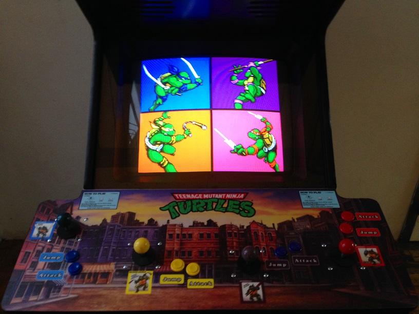 Ninja-Turtles-Arcade-Machine-for-sale-2