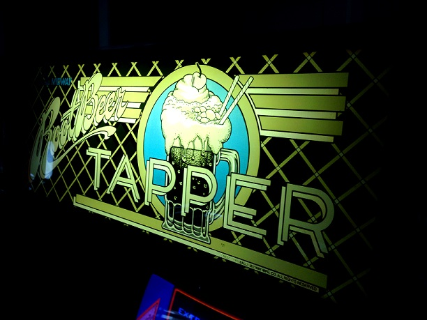 Root Beer Tapper Video Arcade Game Marquee
