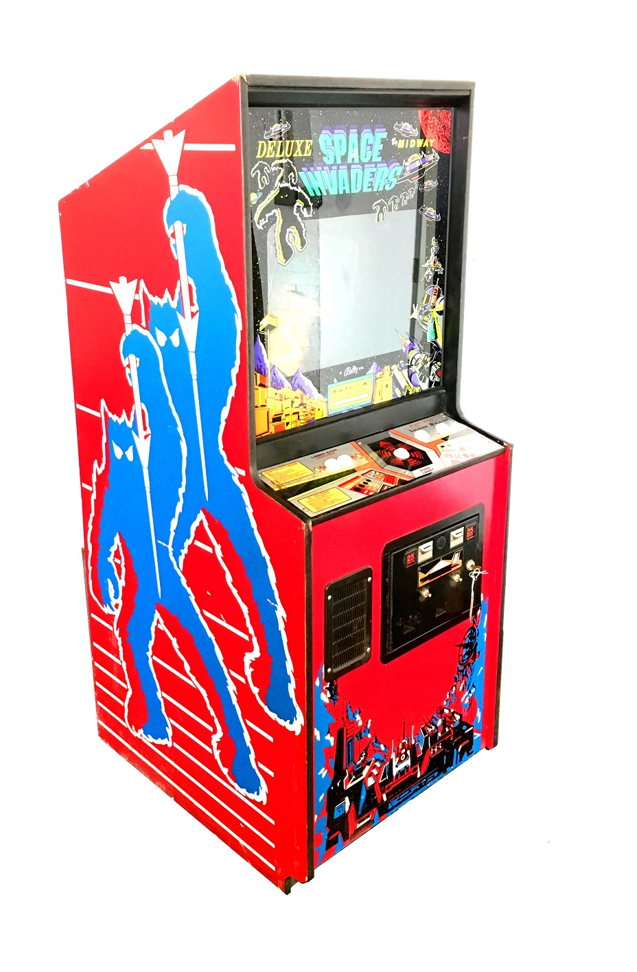 Space Invaders Deluxe Video Arcade Game For Sale Arcade