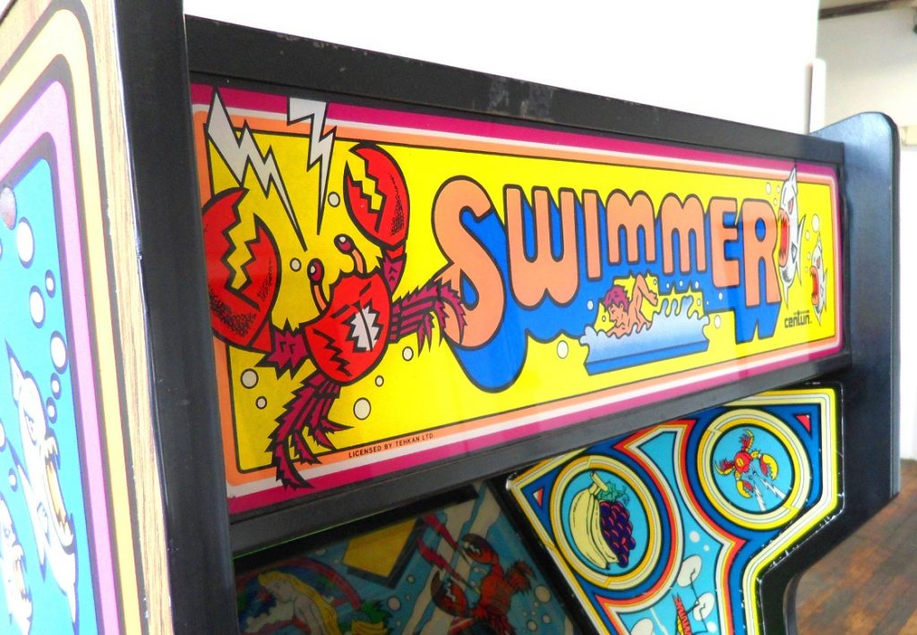 Swimmer-Classic-Arcade-Game-for-sale