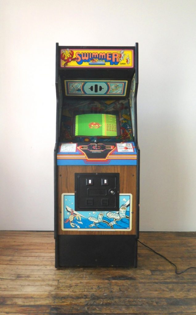 Swimmer-Video-Arcade-Game-for-sale