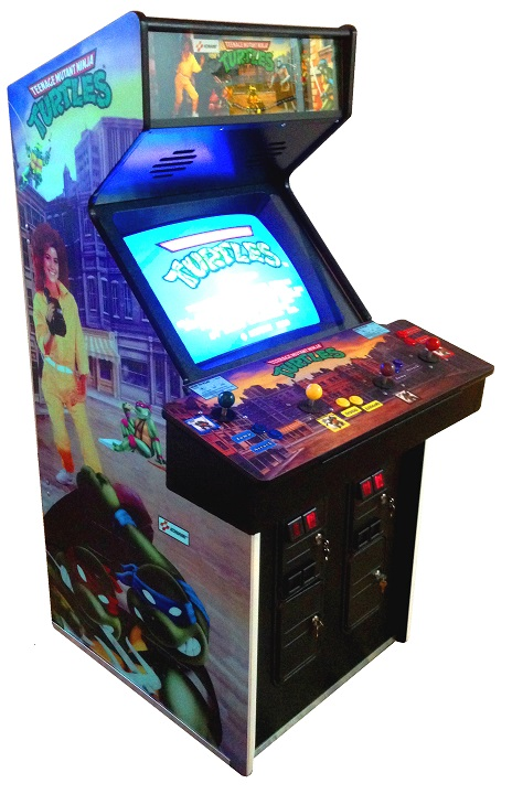 Ninja Turtles/ TMNT Video Arcade Game for Sale | Arcade Specialties