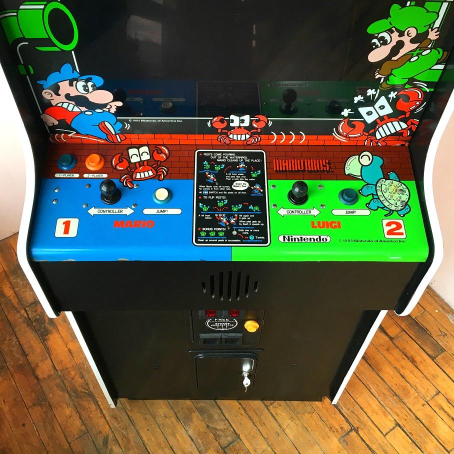 Mario Bros Video Arcade Game Rental Arcade Specialties