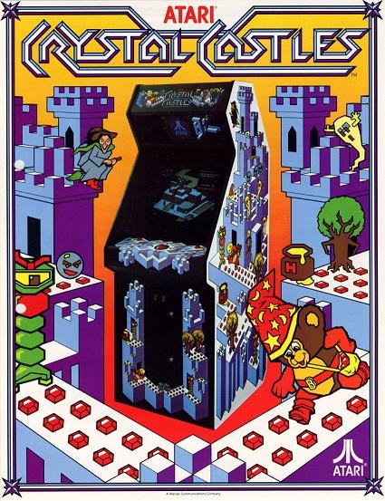 crystal.castles.arcade.game.for.sale.flyer