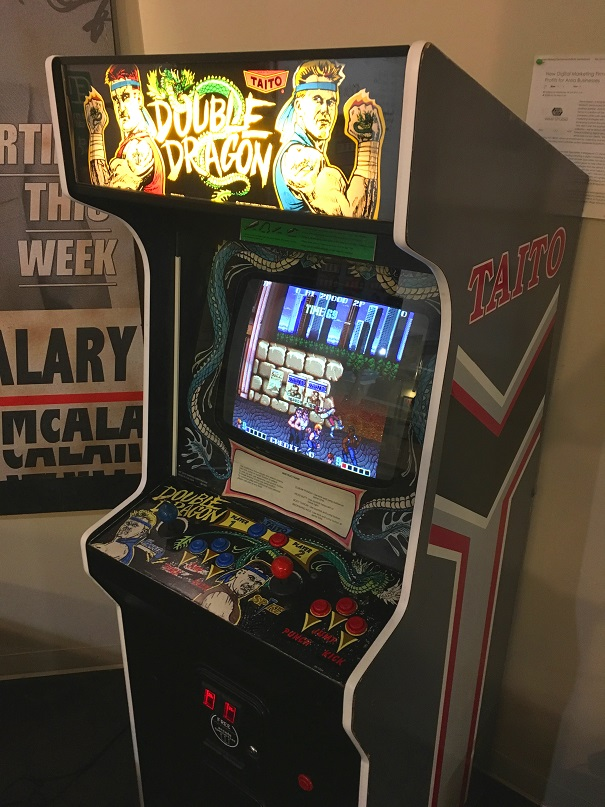 Double Dragon Video Arcade Game For Sale Arcade