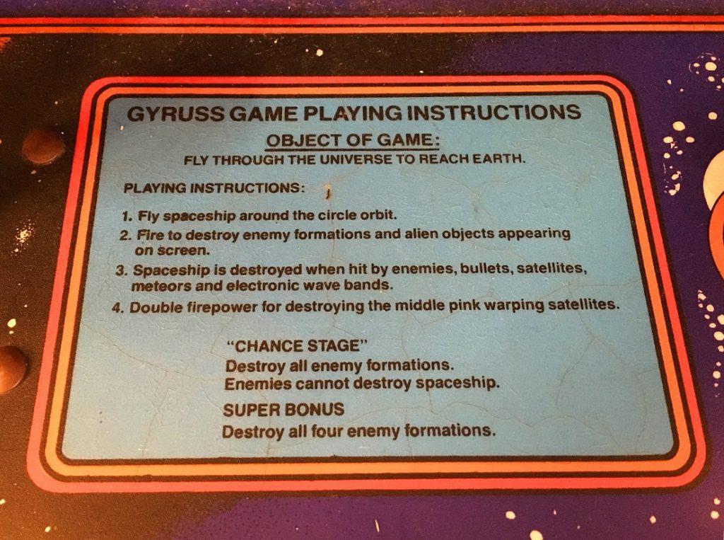 gyruss-arcade-instructions