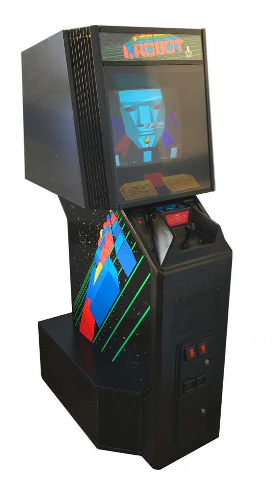 I Robot Video Arcade Game For Sale Arcade Specialties