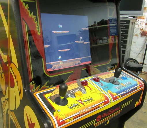 Joust Video Arcade Game For Sale Arcade Specialties Game