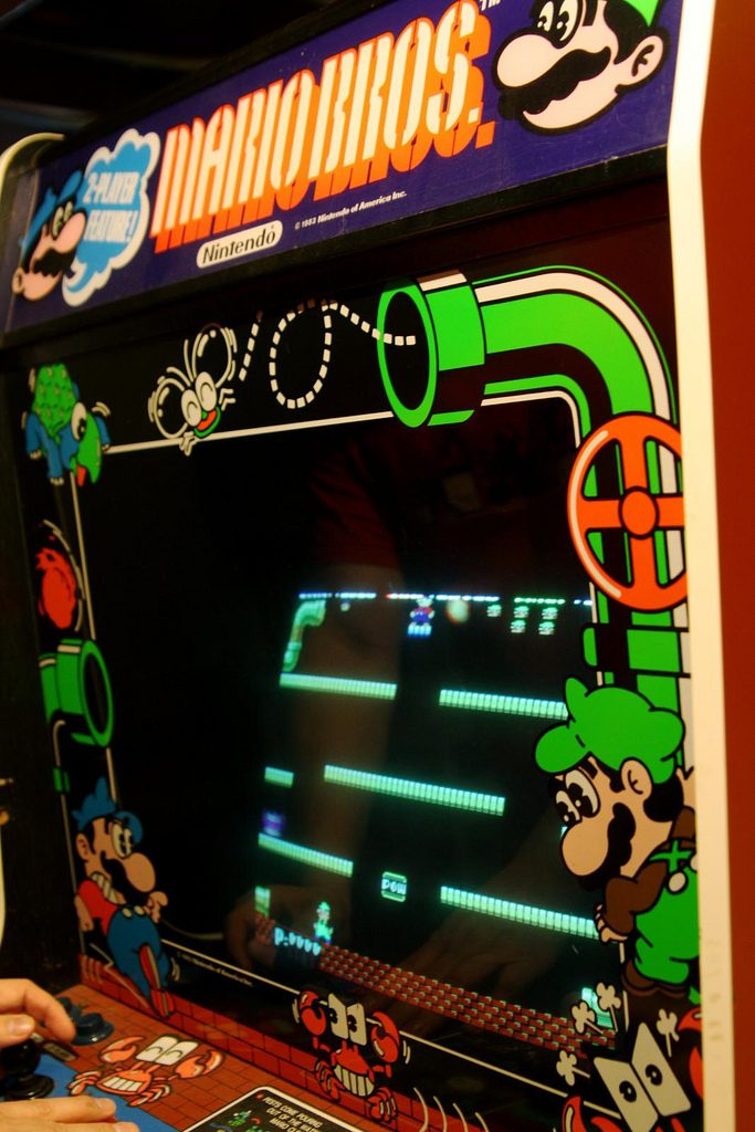 Mario Bros Video Arcade Game For Sale Arcade Specialties
