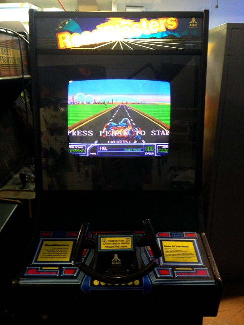 Used Arcade Games Sale : Roadblasters video arcade game for sale