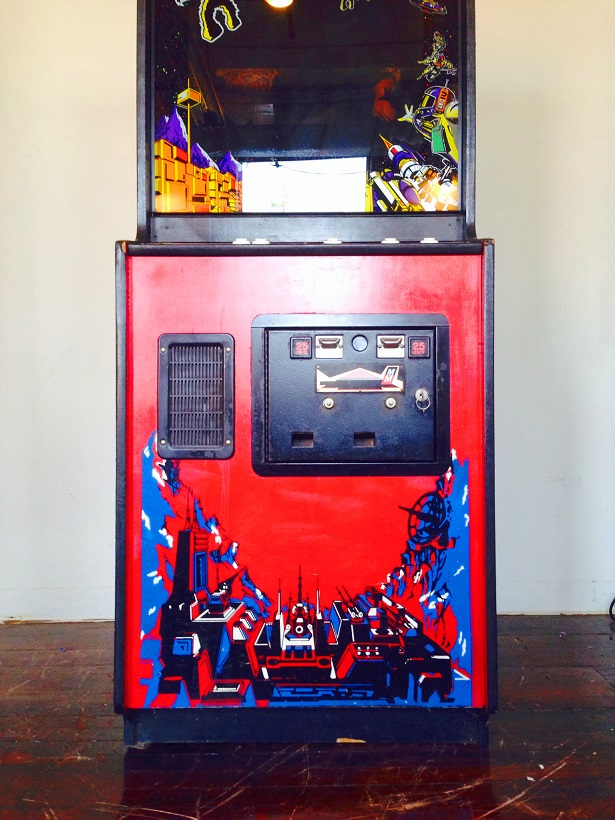Space Invaders Deluxe Video Arcade Game For Sale