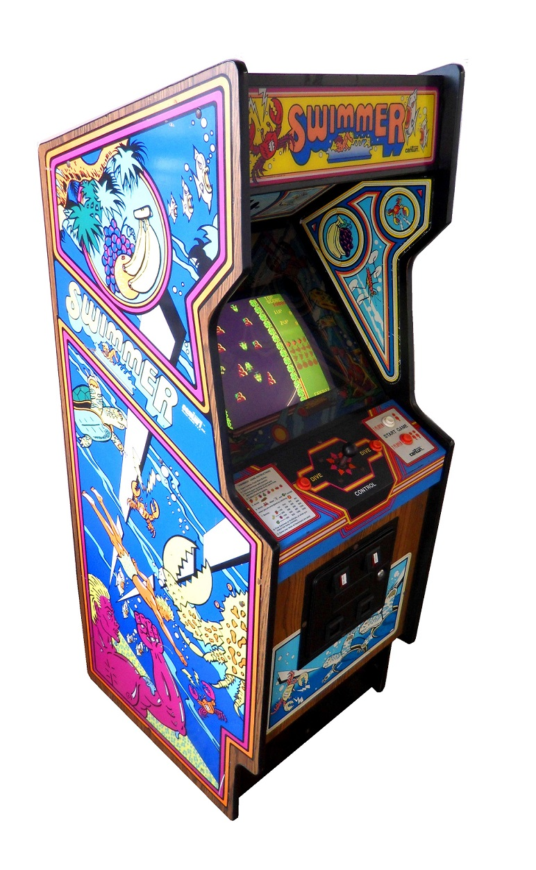 Swimmer Video Arcade Game For Sale Arcade Specialties