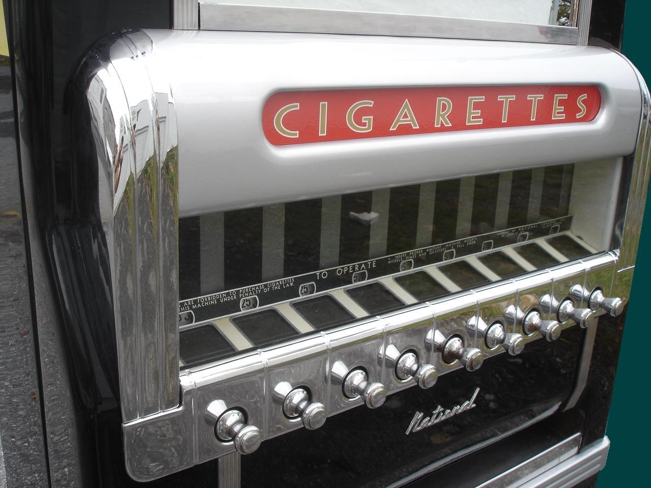 Vending Machine Cigarette Prop Rental Nyc Arcade