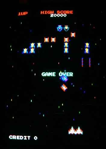 vintage.galaga.arcade.game.for.sale.monitor