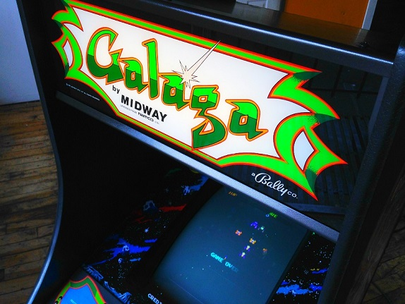 vintage.galaga.video.arcade.game.for.sale.marquee