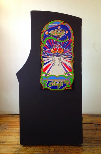 vintage.galaga.video.arcade.game.for.sale.side1