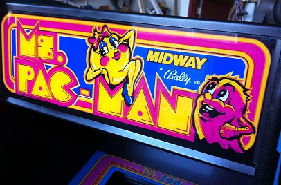 vintage.ms.pac.man.video.arcade.machine.for.sale