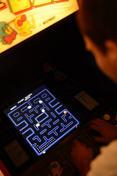 vintage.pacman.arcade.game.for.sale.monitor