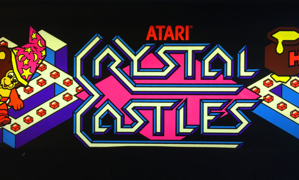 Crystal Castles Video Arcade Game For Sale Arcade