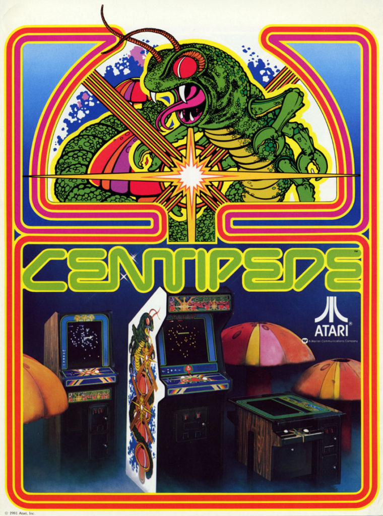 Centipede Video Arcade Game Rental Arcade Specialties