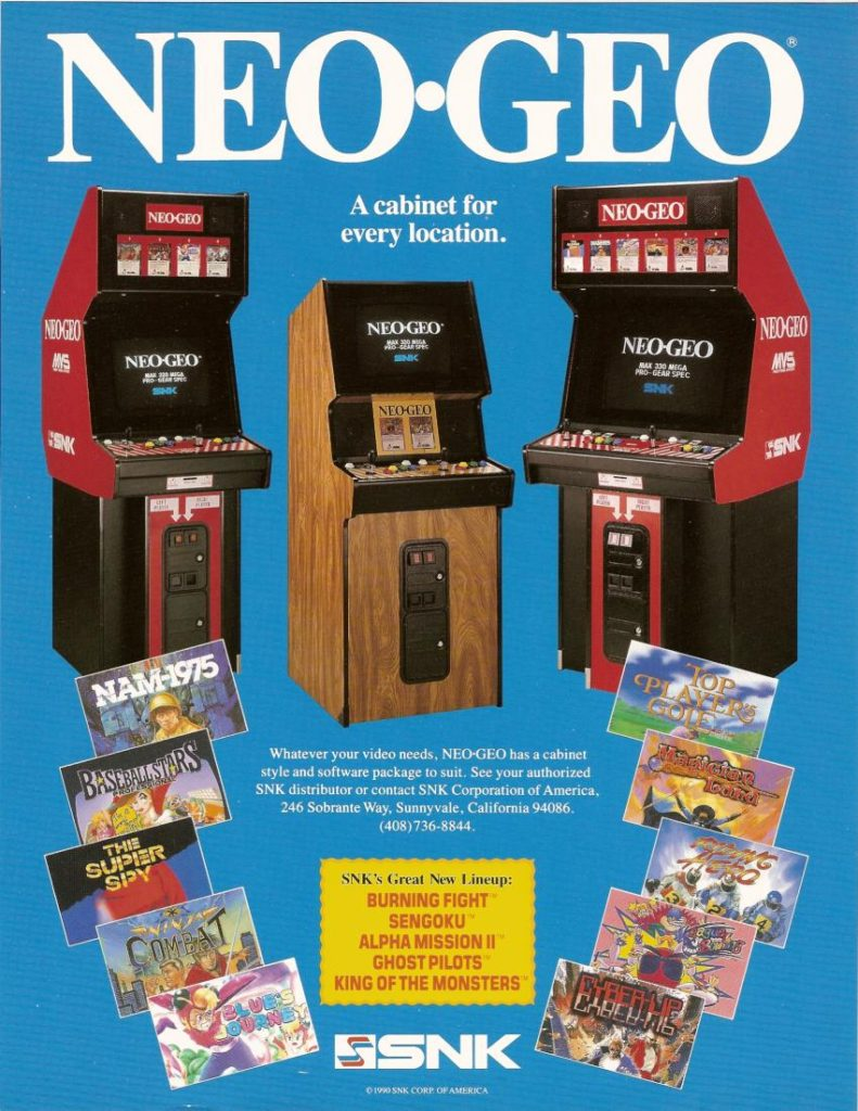 Neo Geo Quot Cabaret Quot Video Arcade Game For Sale Arcade