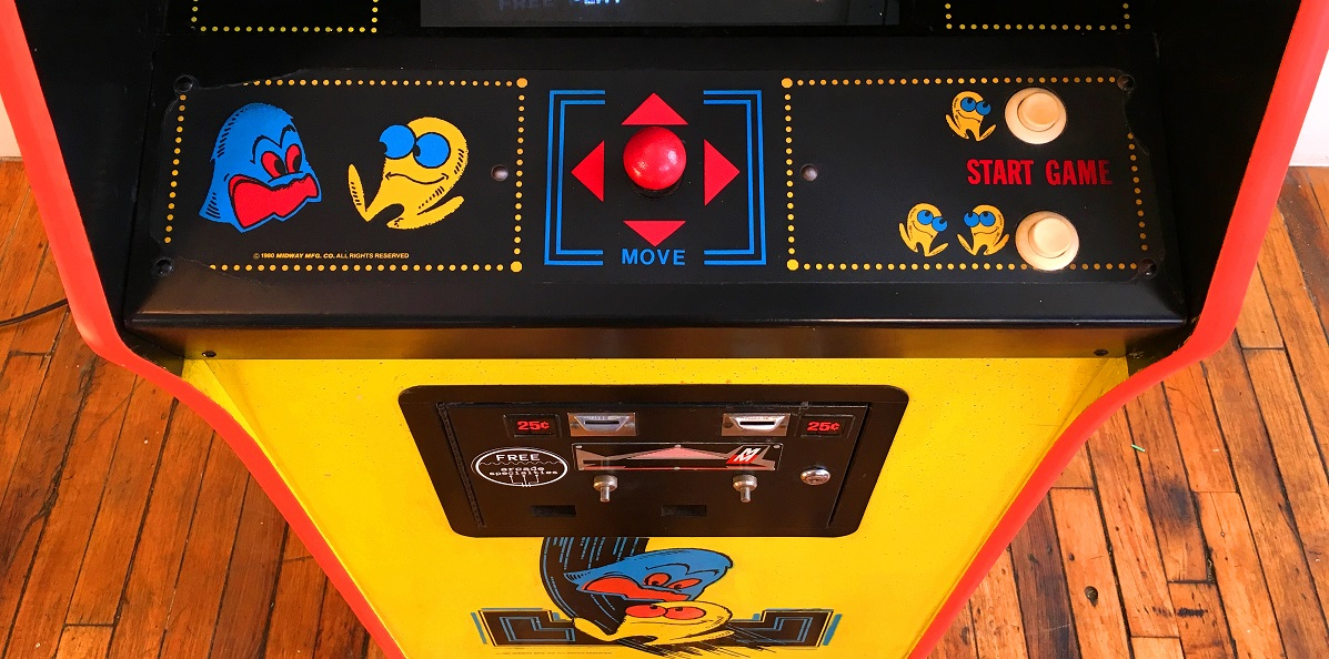 Original Pacman Video Arcade Game For Sale 80s Arcade