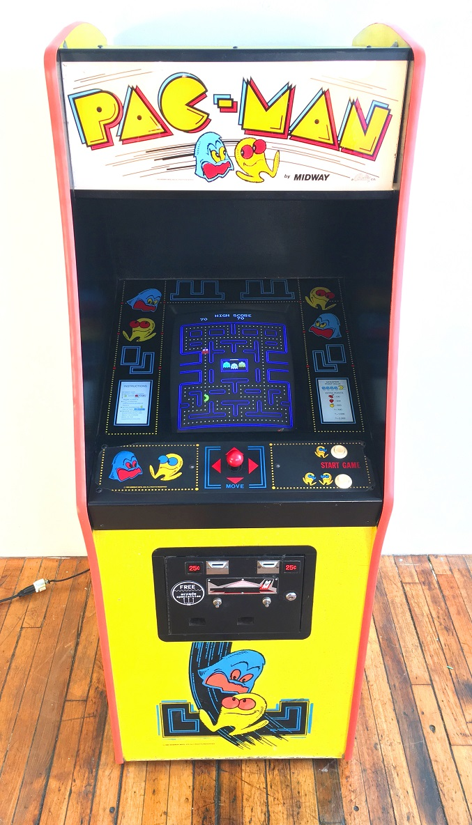 Pac Man Video Arcade Game For Sale 80s