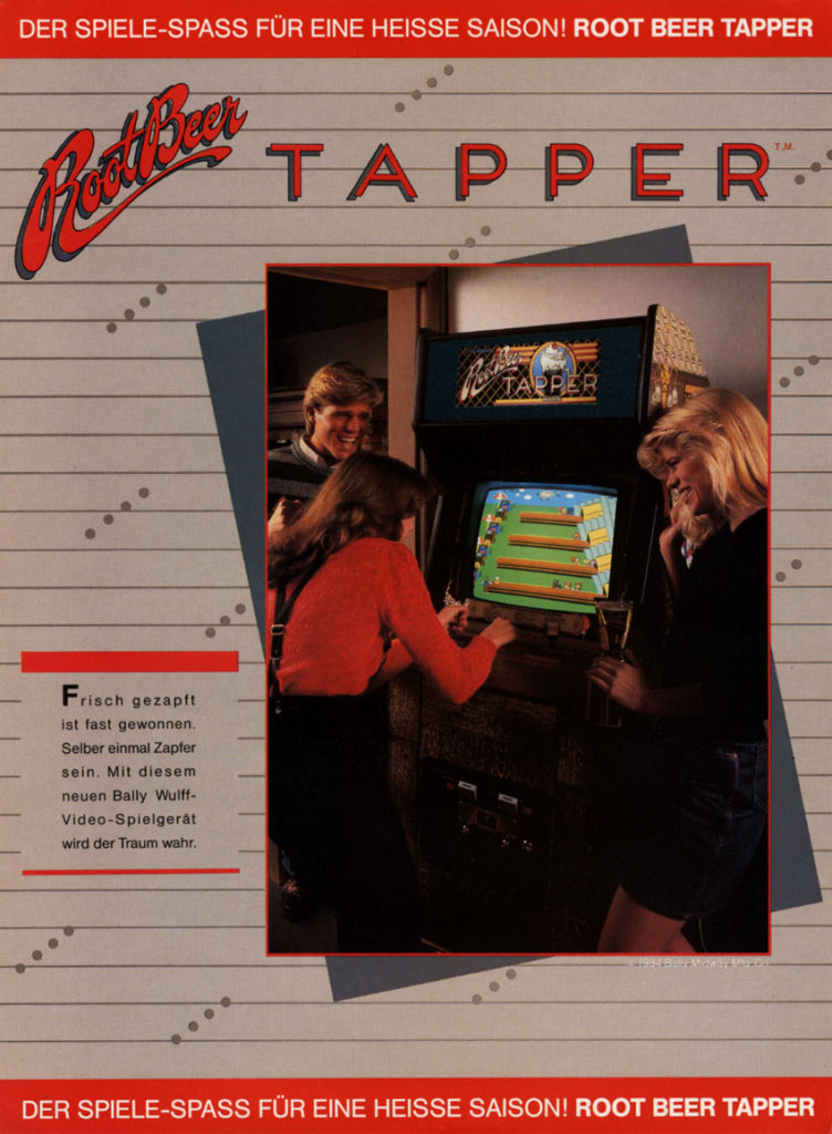 root-beer-tapper-arcade-flyer
