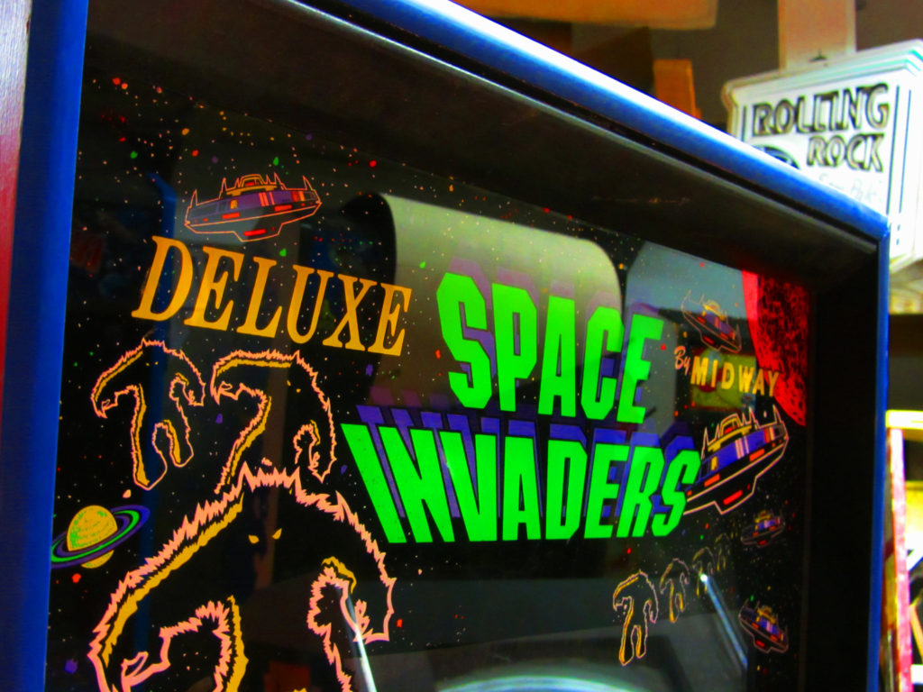 Space Invaders Deluxe Video Arcade Game Rental Arcade