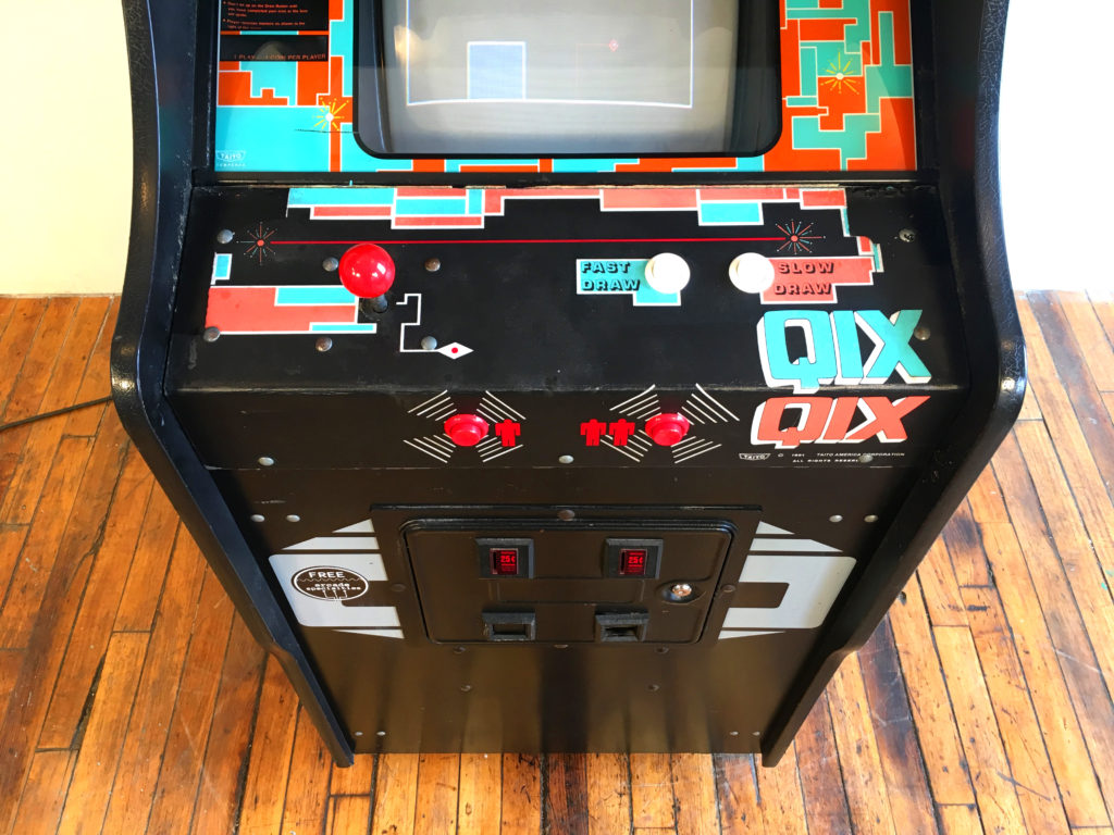 Pac Man Machine >> Qix Video Arcade Game Rental NYC   CT   Arcade Specialties ...
