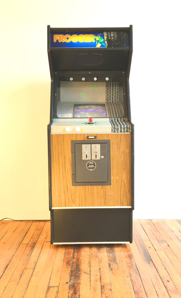 Vintage Arcade Games >> Frogger Video Arcade Game for Sale | Arcade Specialties Game Rentals