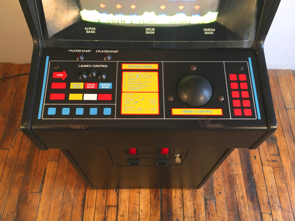 Missile Command Video Arcade Game For Sale Arcade