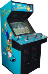 the simpsons arcade game rentals nyc new york