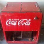 coca cola cooler machine for rent prop
