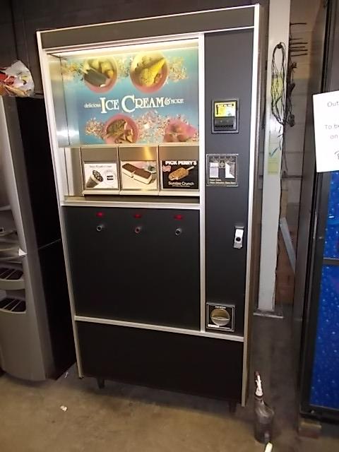 Ice Cream Machine Vending Prop Rental New York Arcade