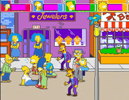 THE SIMPSONS ARCADE GAME RENTAL NEW YORK NYC
