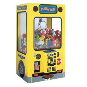 plush bus claw machine rentals nyc