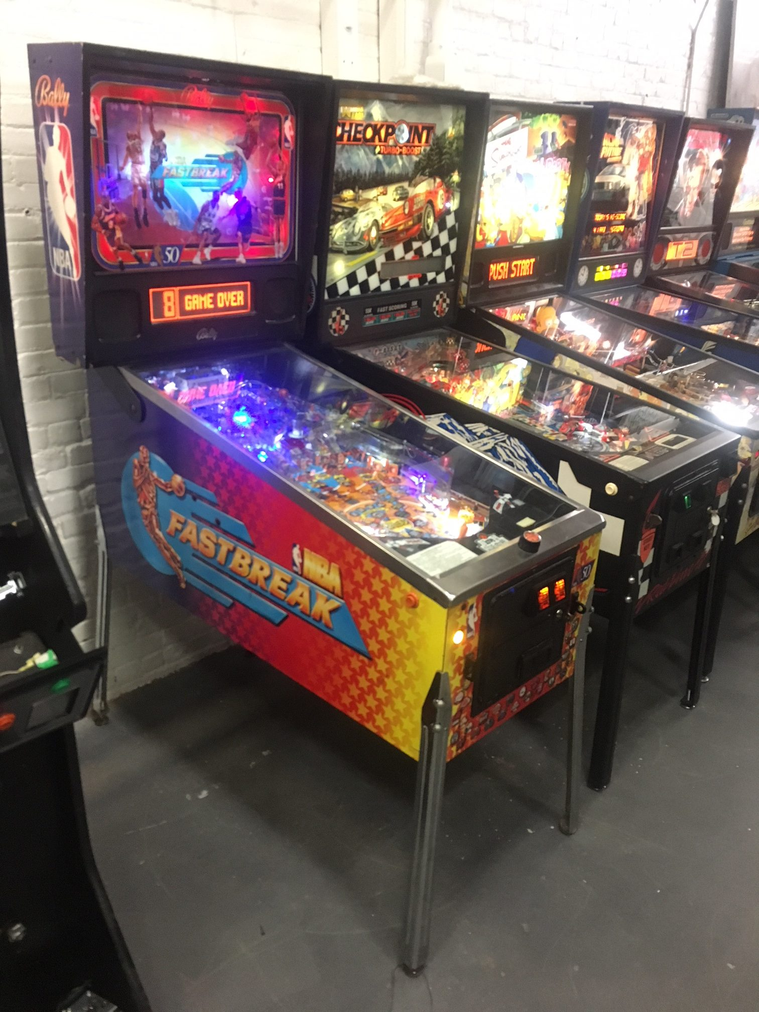 NBA-Fastbreak-Pinball-Machine-rentals-new-york