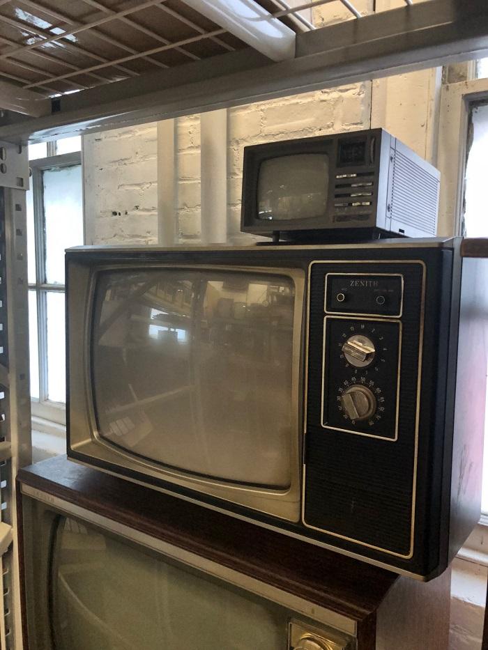 Vintage TVs | Prop Rentals NYC | Arcade Specialties Game Rentals