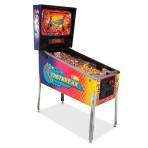 nba fastbreak pinball rentals new york
