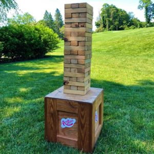 giant jenga game rentals new york ct