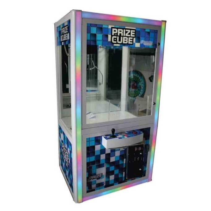 Custom claw machine rentals nyc prize cube