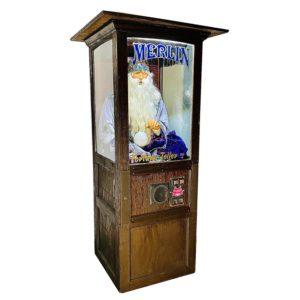 merlin fortune teller machine prop rental new york