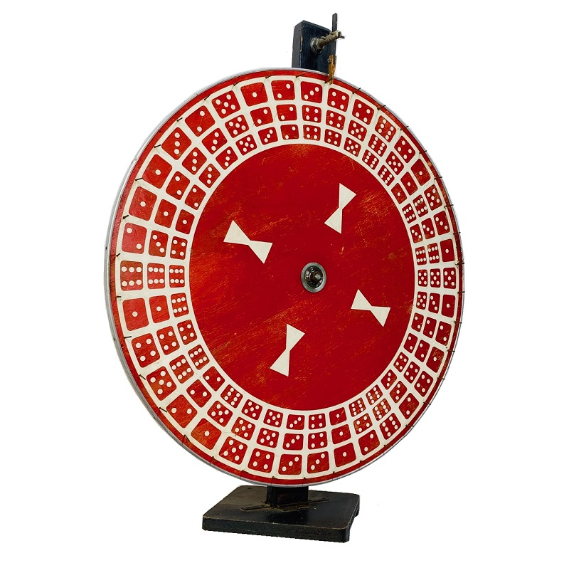 prize wheel vintage prop rental nyc